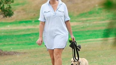 Samantha Armytage's puppy playdate with her new pooch Banjo!