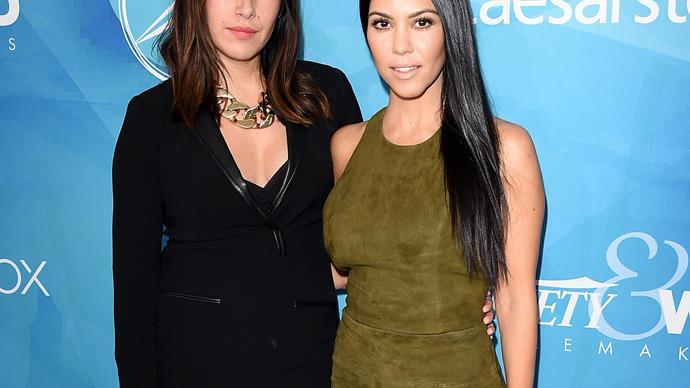 Celebrity hairstylist Jen Atkin and Kourtney Kardashian