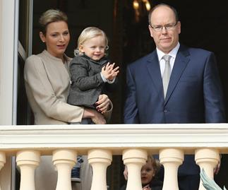 Princess Charlene, Prince Albert, Princess Gabrielle, Prince Jacques