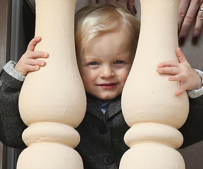 Princess Charlene, we hope you're having this snap framed.