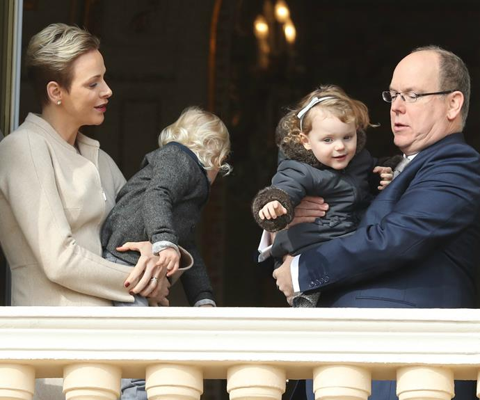 It seems even royal tot's squirm and wriggle about.