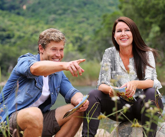 Dr Chris Brown and Julia Morris