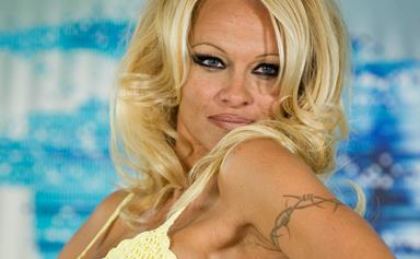Pamela Anderson is barely recognisable as she steps out in Paris