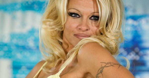 pamela lee anderson tattoos