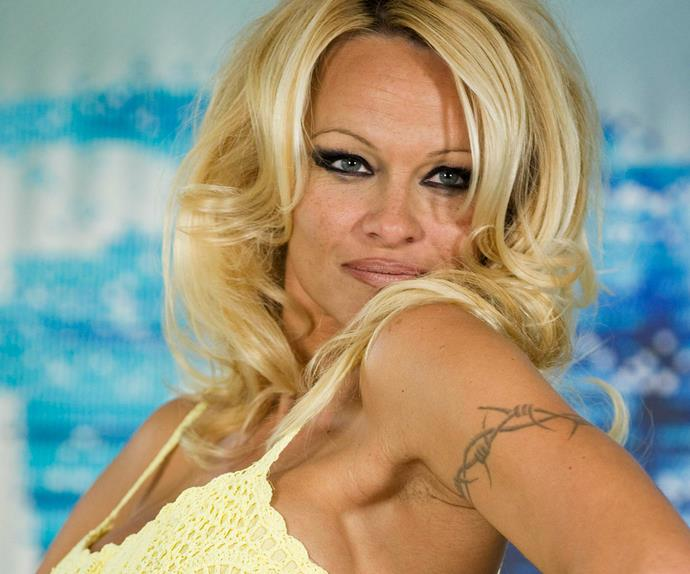 Pamela Anderson at the The Best Award Gala in Paris