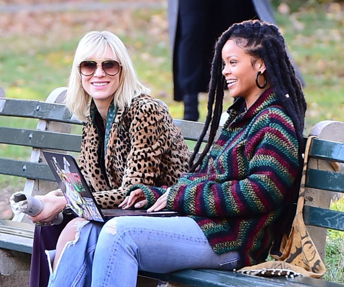 They might be an unlikely pair but Rhi Rhi and Cate seem to be getting along like a house on fire!