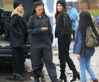 Sarah Paulson, Rihanna, Sandra Bullock, Ocean's Eight