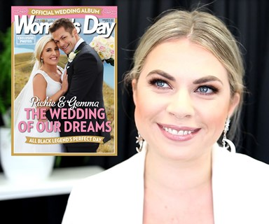 Get the look: Gemma Flynn's wedding makeup