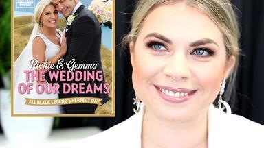 Get the look: Gemma Flynn's wedding makeup