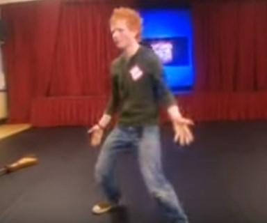 Watch Ed Sheeran's hilariously awkward first audition
