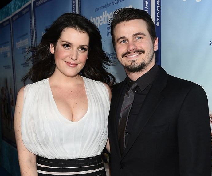Melanie Lynskey and Jason Ritter