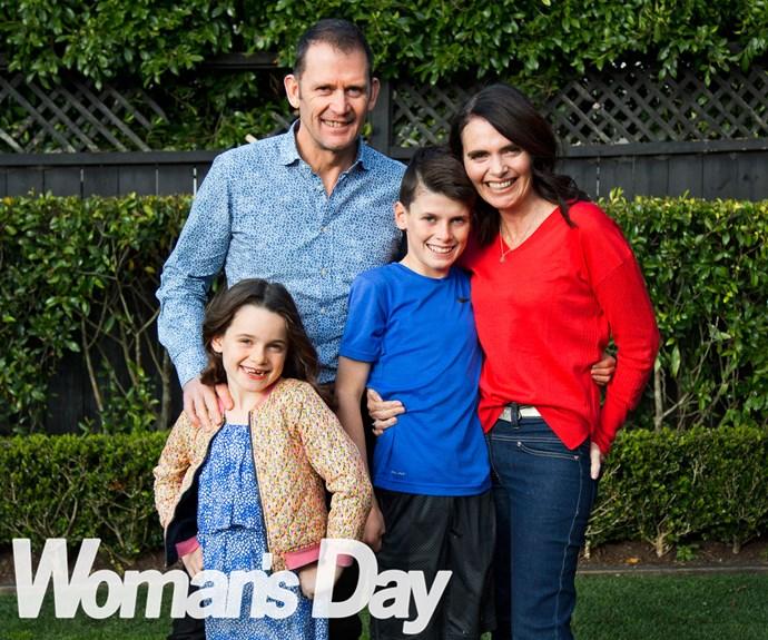 Andrea Moore's family secret