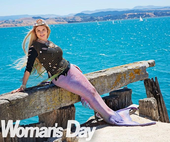 I'm a real life mermaid!