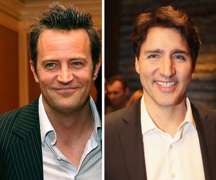 Matthew Perry admits to beating up Justin Trudeau