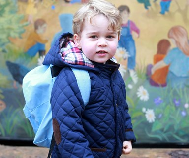 Prince George's new school bans besties