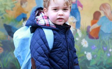 Prince George's new school bans besties