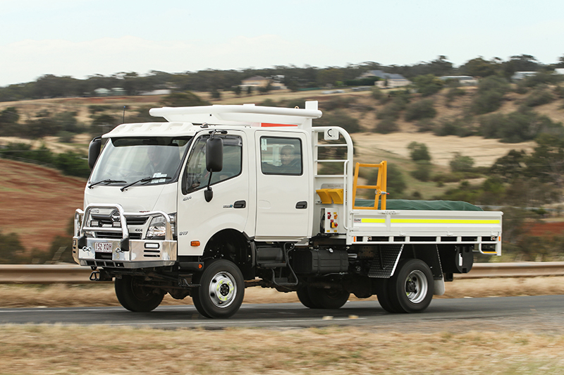 Off-Road Runner - Hino 300-Series 4x4 | Review