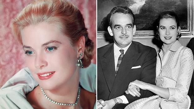 Princess Grace with Prince Rainer