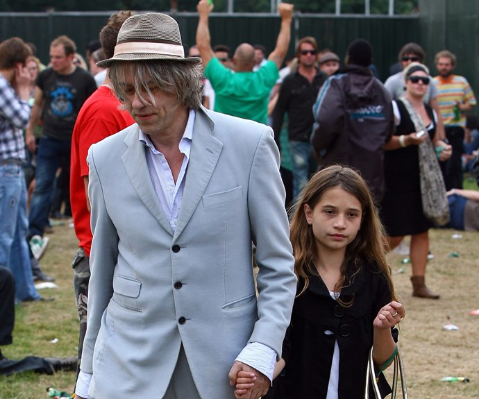 Bob Geldof and Tiger Lily in 2008. Photo: Getty Images