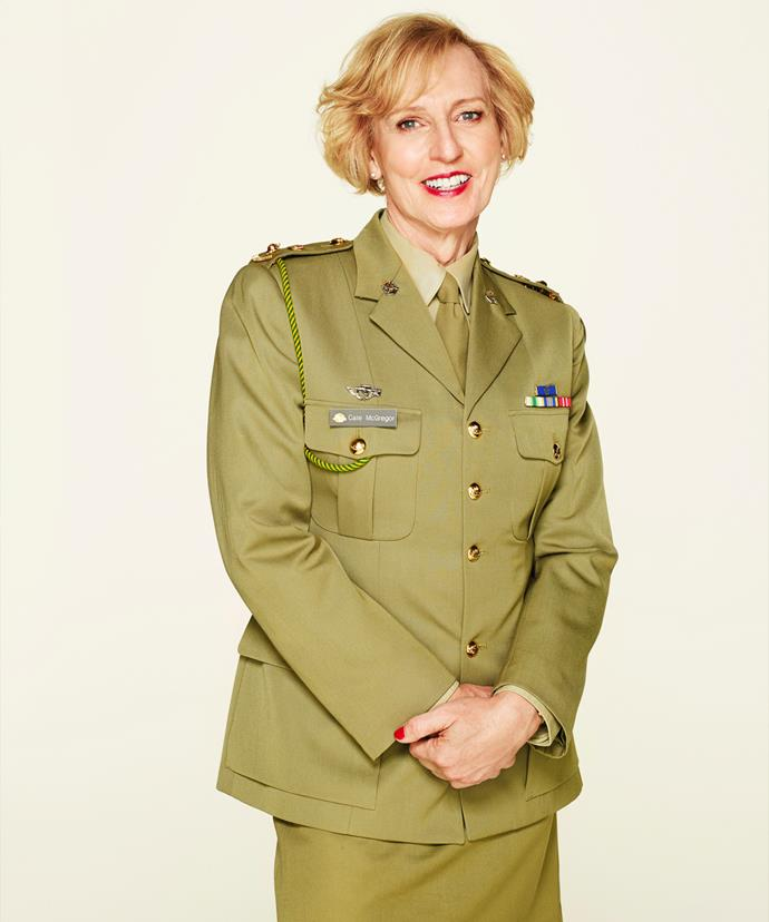 Following the leave from the Army in June 2012 Cate McGregor returned to her position with a new uniform and gender.