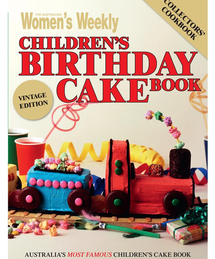 *The Australian Women's Weekly's Children's Birthday Cake Book* has reached cult classic status.