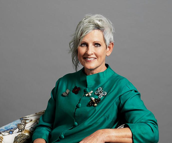 "Kerrie Cox, 57. ""I had more compliments on my hair as a grey-haired woman that I'd had at any other stage of my life."""