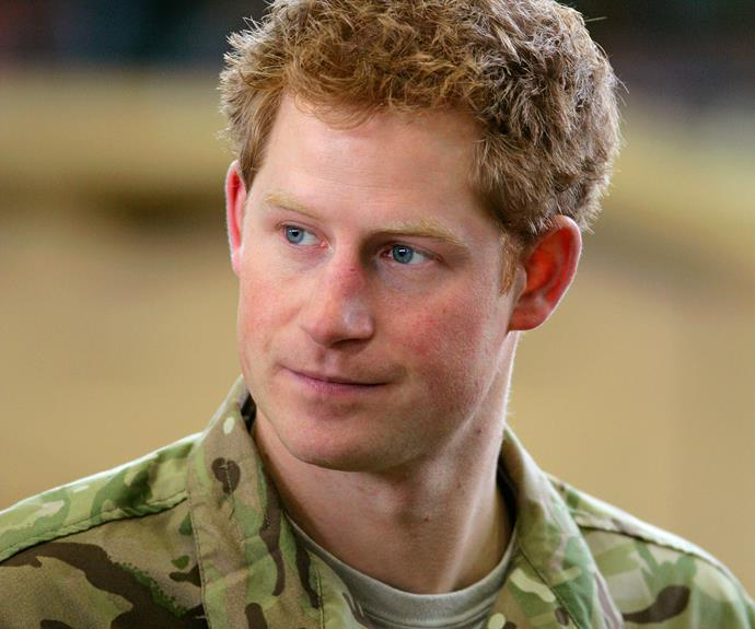 Prince Harry was a Lieutenant of the British Armed Forces.