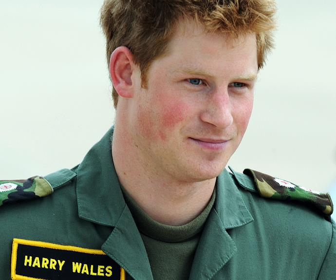 "In the army he is referred to by his father's title, ""Harry Wales""."