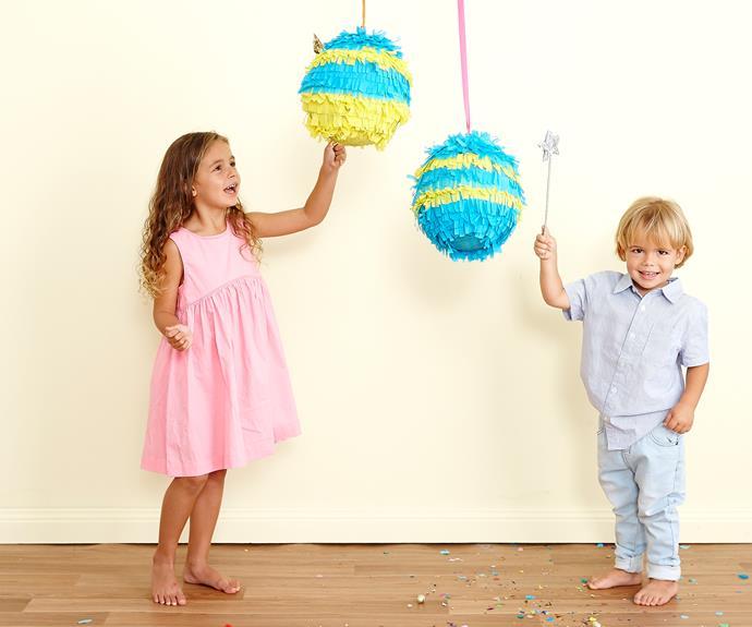 Easter Egg Piñatas