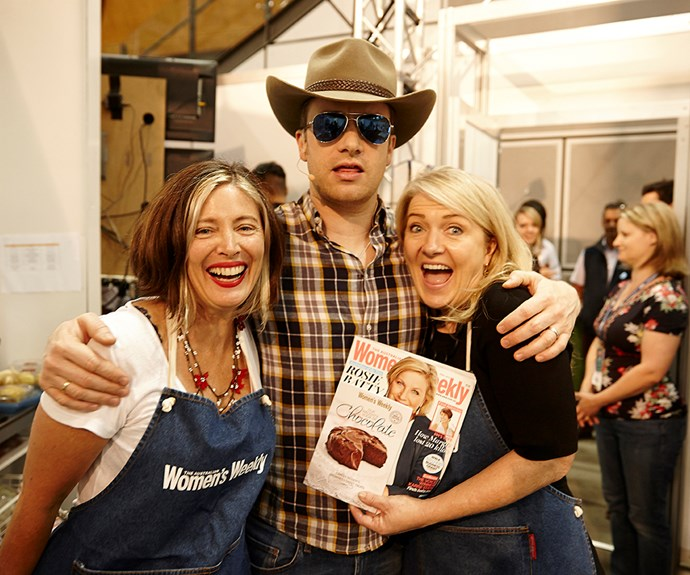 *The Weekly's* foodie guru's caught up with celeb chef Jamie Oliver at Sydney's Royal Easter Show.