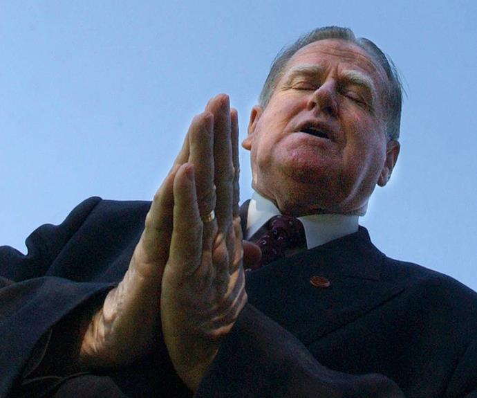 Reverend Fred Nile holds the balance of power in the NSW Upper House.