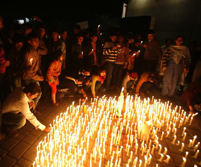 A vigil for Jyoti.