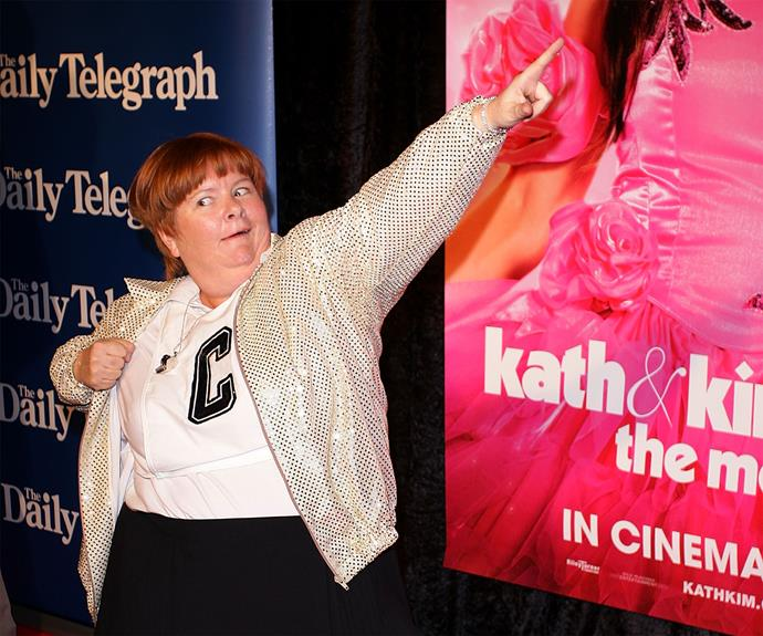 "Sharon Strzelecki, *Kath & Kim*: ""Yes, it's nice, it's different, it's unsual."""