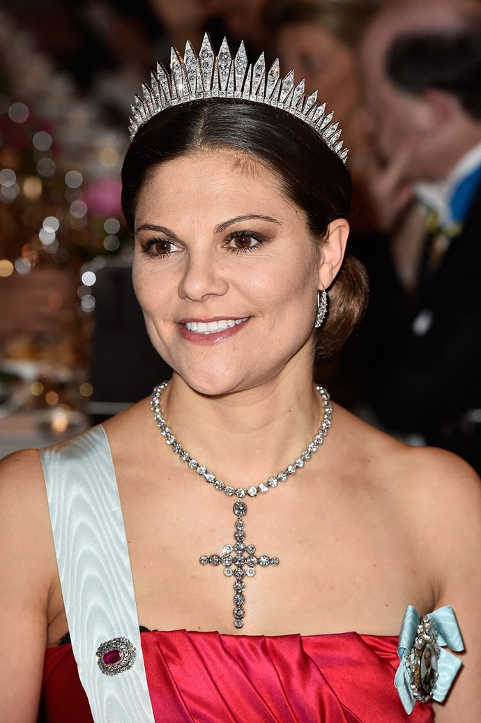 **Sweden:** Older than her queenly counterparts at 37, Crown Princess Victoria could inherit the throne of Sweden a lot earlier than the rest. If Victoria inherits her father, King Carl XVI Gustaf's throne, she will become the fourth Queen Regnant to reign in Sweden.