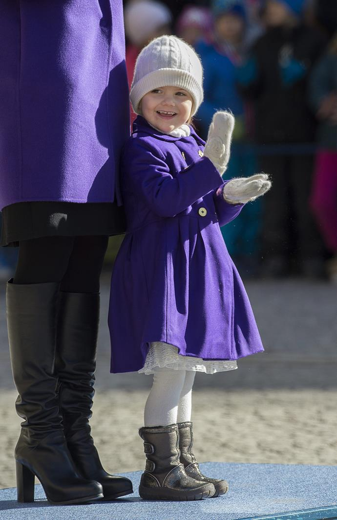 **Sweden:** Carrying on this new tradition of Swedish Queens, Crown Princess Victoria's first born child, three-year-old Princess Estelle, is second in line and will ascend the throne after her mother.