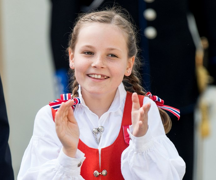 **Norway:** At 11 years old, Princess Ingrid Alexandra is third in line to inherit the throne, after her father, Crown Prince Haakon. Not satisfied with the Norwegian throne, Princess Ingrid is also 74th in line to the British crown.