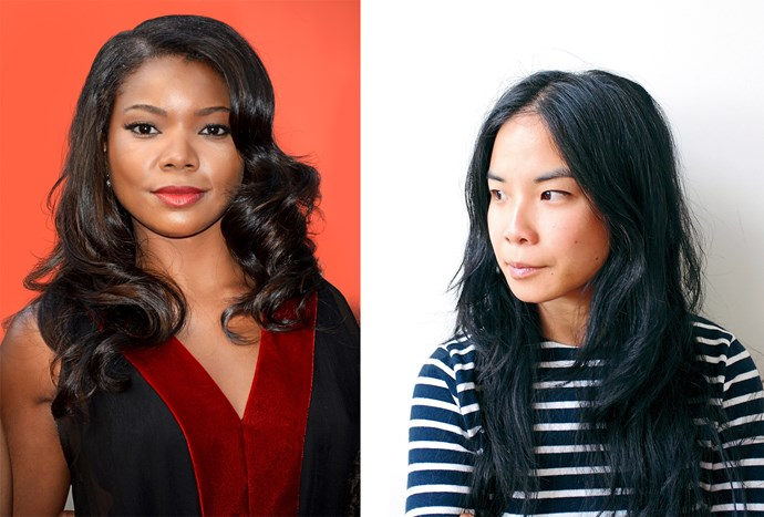 Actress Gabrielle Union and writer Estelle Tang.