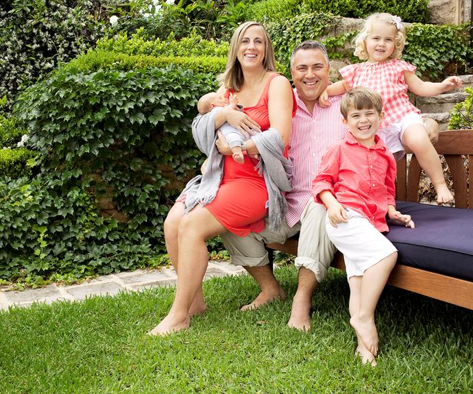 Treasurer Joe Hockey gave The Weekly a peek into life with wife Melissa, daughter Adelaide, and sons Xavier and Ignatius in 2009.