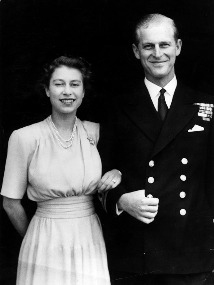 After a string of love letters sent back and forth (which is how Prince Philip is rumoured to have won her heart), Elizabeth and her military sweetheart, Prince Philip of Denmark and Greece, became engaged.