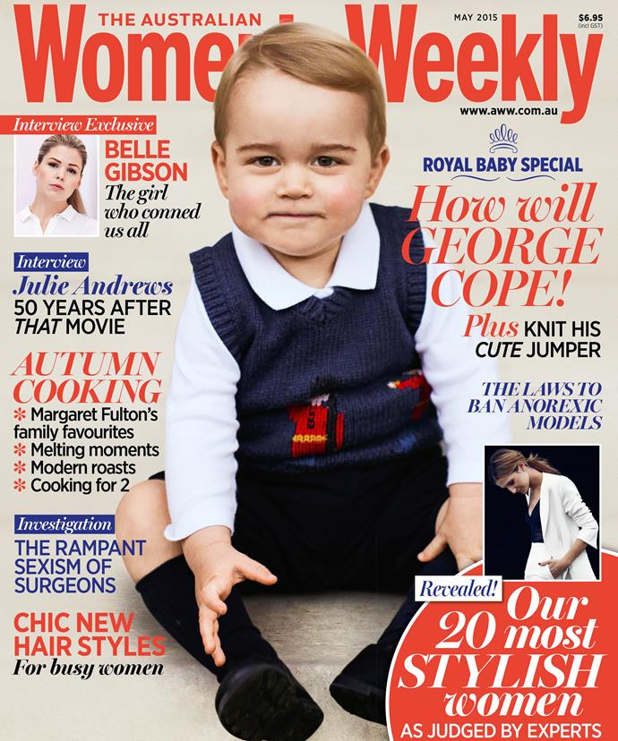 The cover of The Australian Women's Weekly on sale Thursday.