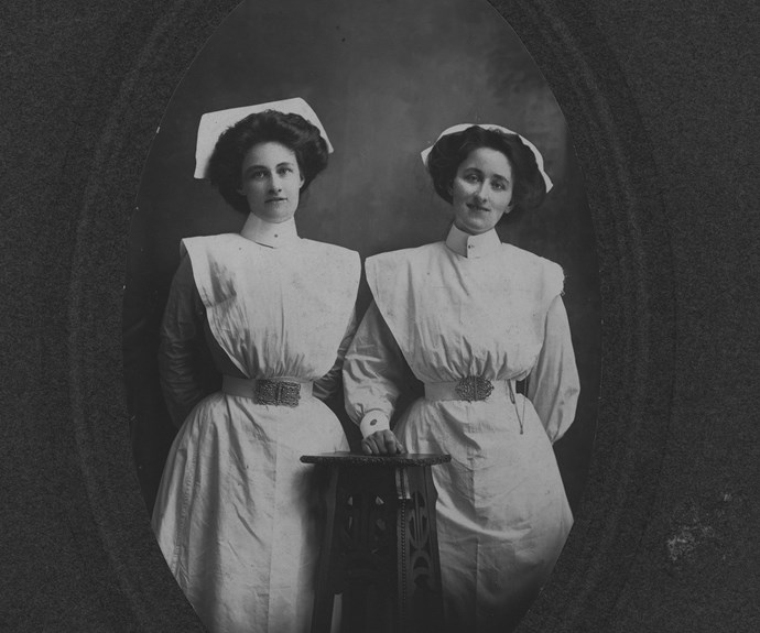 Kath and her sister, Wynne.