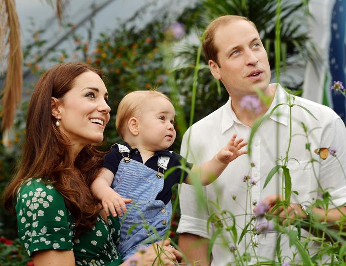 Kensington Palace released the two further portraits that were taken to mark the first birthday of His Royal Highness, Prince George of Cambridge in July 2014.