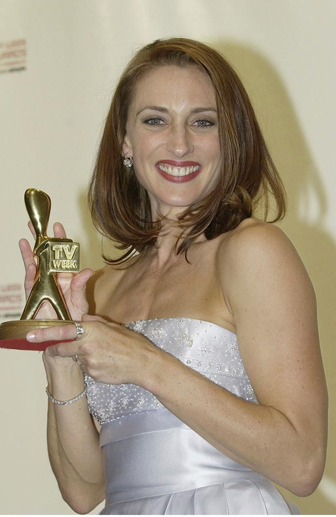 **All Saints** star, Georgie Parker, took our two Goldies consecutively in 2001 and 2002.