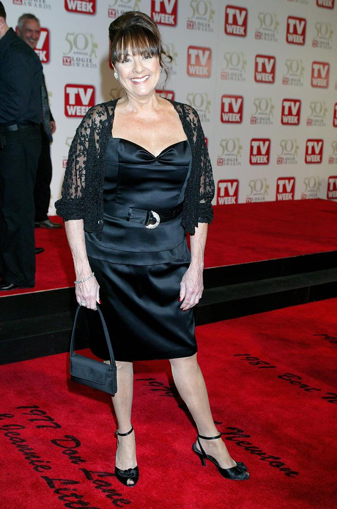 Denise Drysdale also won consecutive Gold Logies in 1975 and 1976 for TV Personality.