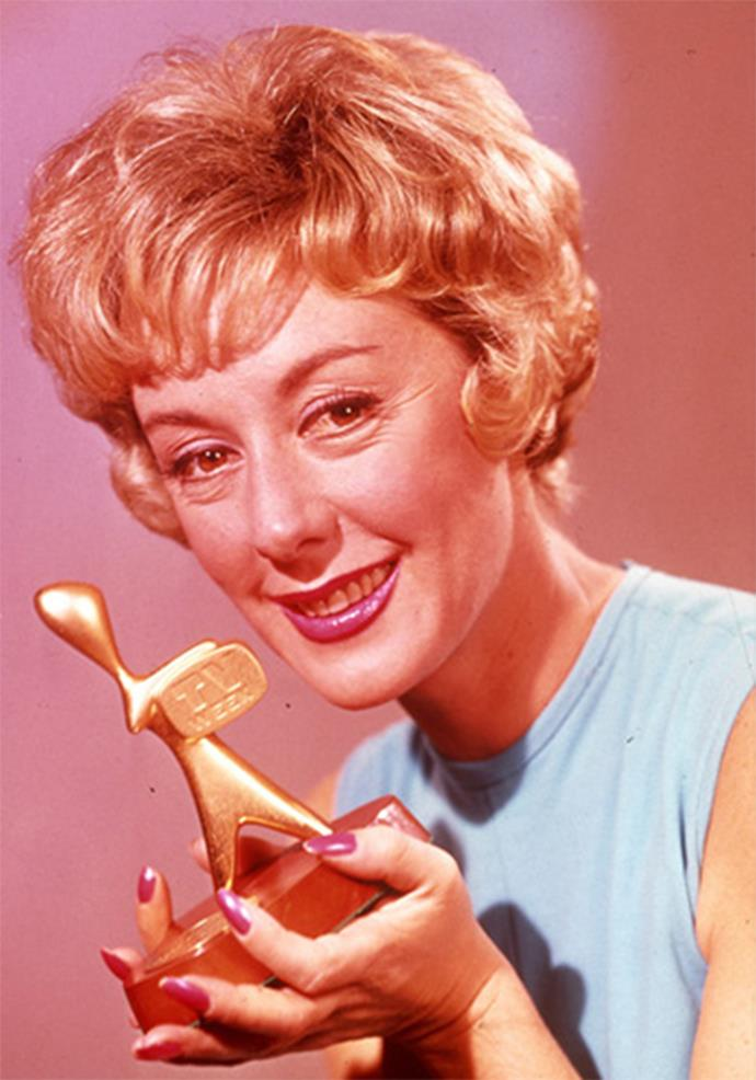 Lorrae Desmond was the first ever female to win a Gold Logie for *The Lorrae Desmond Show*.