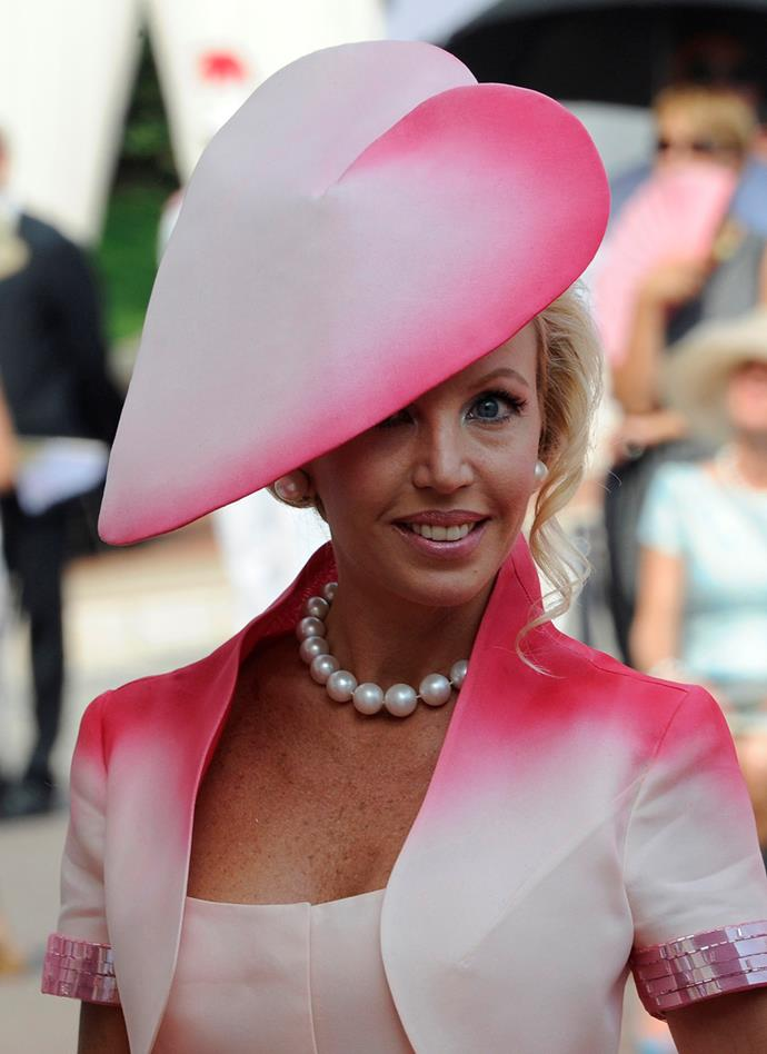 But the worst Royal Wedding hat probably goes to Italian Princess **Camilla Cruciani**.
