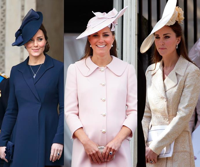 We can see an asymmetrical pattern emerging with our favourite **Catherine, Duchess of Cambridge**.
