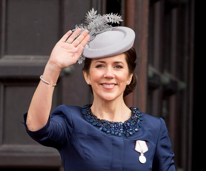 **Crown Princess Mary** loves her cocktail pieces.