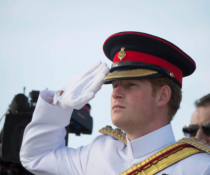 Don't forget the boys. **Prince Harry** does a good hat, too!