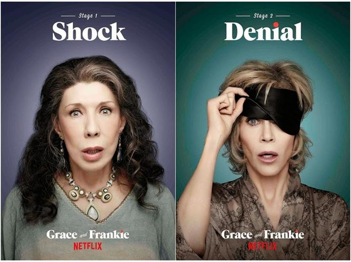 Jane and Lily in '*Grace and Frankie*'.